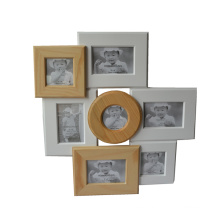 Wooden Collage Picture Frame for Wall Hanging
